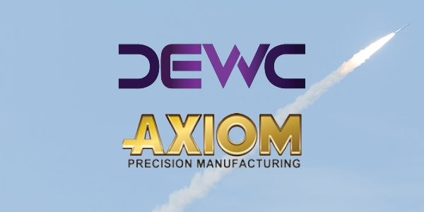 AMC News Article Image 34 DEWC Systems and Axiom Precision Manufacturing